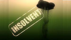 Bankruptcy insolvency Image credit pixabay/kalhh