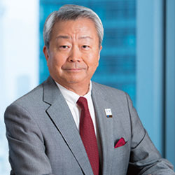 Jun Sawada, President and CEO for NTT Corporation