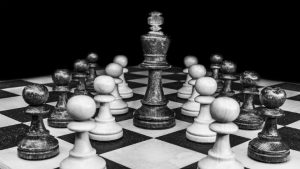 Chess CEO Boss (image credit pixabay/O12