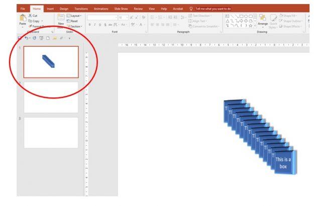 Duplicate whole slide