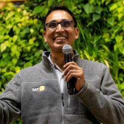 Ram Jambunathan, senior vice president and SAP.iO managing director (Image credit Linkedin)