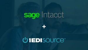 Sage Intacct and 1 EDI Source partner