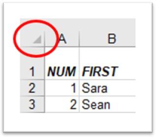 Select sheet tool