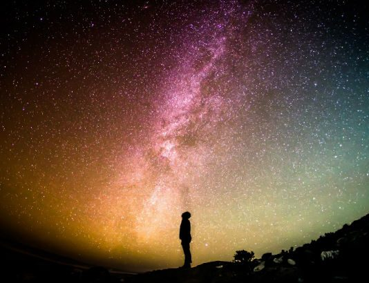 Milky Way, Image credit Pixabay/FreePhotos