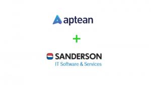 Aptean+Sanderson logos
