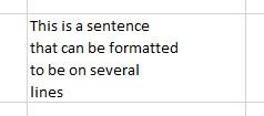 Precise wrap text 3