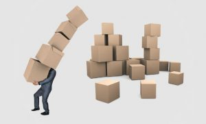 Businessman boxes courier Image by Mediamodifier from Pixabay