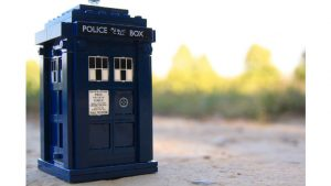 Time The tardis Image by sinepax from Pixabay