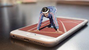 Marathon Starter Image credit pixabay/composita