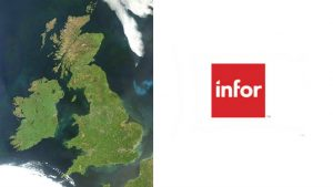 British Isles By Jeff Schmaltz, MODIS Land Rapid Response Team, NASA GSFC (Goddard Space Flight Center) - Description text and image both imported from http://modis.gsfc.nasa.gov/gallery/individual.php?db_date=2012-06-04, Public Domain, https://commons.wikimedia.org/w/index.php?curid=28111938 Infor logog (c) Infor