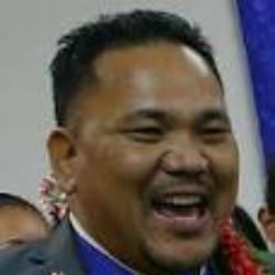 Kenneth Kedi, Speaker of the Marshallese Parliament