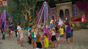 Maypole May Disney Image by extremis from Pixabay