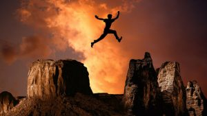 Mountain Leap growth Image by Gerd Altmann from Pixabay