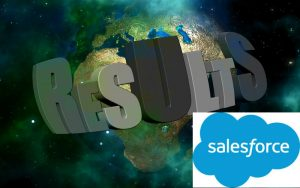 Salesforce Results (Image credit pixabay/Geralt) https://pixabay.com/en/result-galaxy-earth-world-globe-2153619/