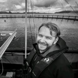 Alf-Gøran Knutsen, CEO of Kvarøy Arctic