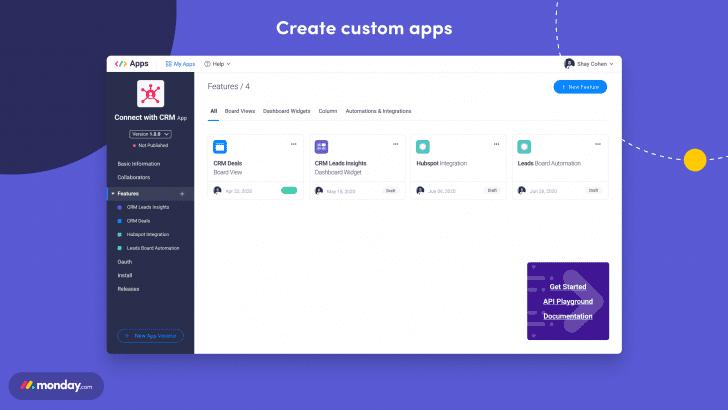 Apps Framework (c) 2020 MOnday.com