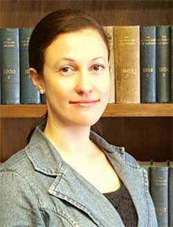 Dr Ana Beduschi, Associate Professor of Law, University of Exeter Law School (Image Credit: University of Exeter )
