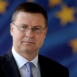 Executive Vice-President of the European Commission, Valdis Dombrovski (Image Credit: European Commission)