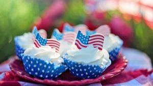 Fourth of July Image by Jill Wellington from Pixabay
