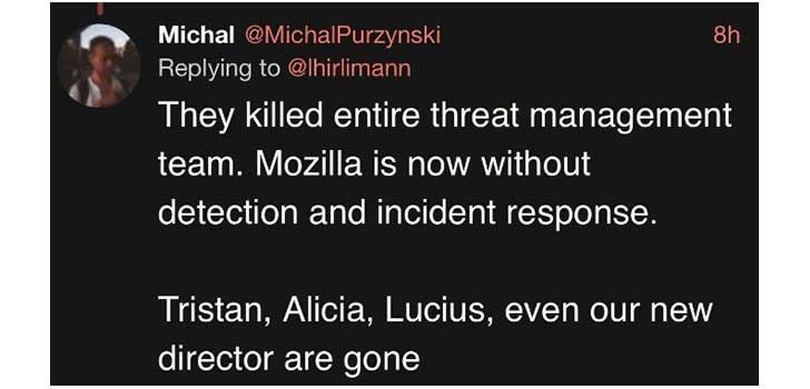 Michal Purzynski, Twitter (Image Credit: Twitter)