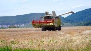 Combine Harvest September Image by Matthias Böckel from Pixabay
