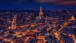 Paris Light Night Image by Walkerssk from Pixabay