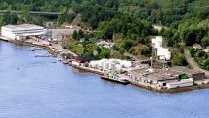 Wilhelmsen Chemicals plant in Kjøpmannsskjær, Nøtterøy, Norway (c) Wilhelmsen Chemicals