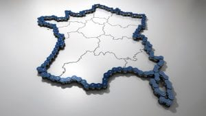 France Map Image by Jean-Paul Jandrain from Pixabay