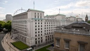 Ministry of Defence MoD Main Building, London (Image Credit: Defence Imagery)