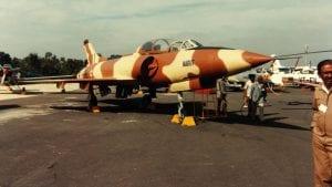HAL HF24 Marut By SDASM Archives - HAL (Hindustan Aeronautics), HF-24, Marut, Public Domain, https://commons.wikimedia.org/w/index.php?curid=46254197