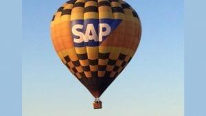 SAP Balloon, source SuccessFactors Twitter