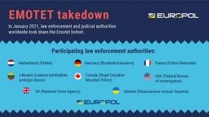 Emotet taken down but for how long? (Image Credit: Europol)
