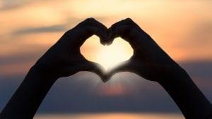 heart revolution sunrise sunset Image by Photo Mix from Pixabay