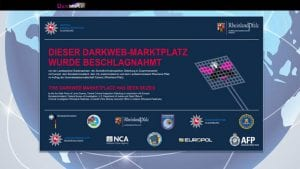 DarkMarket taken offline by law enforcement (Image Credit: Zentrale Kriminalinspektion Oldenberg)