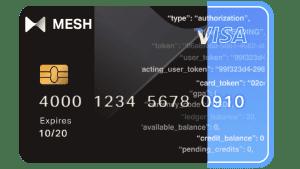 MESH Visa Card - (c) 2021 Mesh