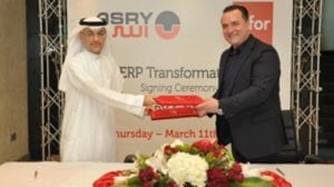 Signing Ceremony ASRY and Infor