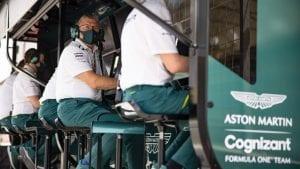(c) 2021 Aston Martin Cognizant Formula One Team