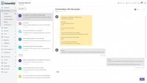 Pulseway Client portal Conversation