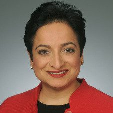 Shamina Singh, President and Founder of the Mastercard Center for Inclusive Growth