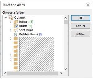 Alerts Dialog box
