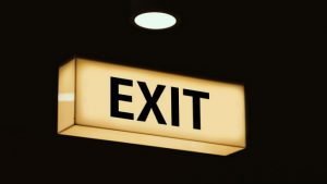 Exit Image by Gerd Altmann from Pixabay