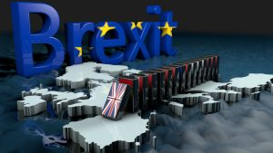 Brexit Domino : Image by DANIEL DIAZ from Pixabay